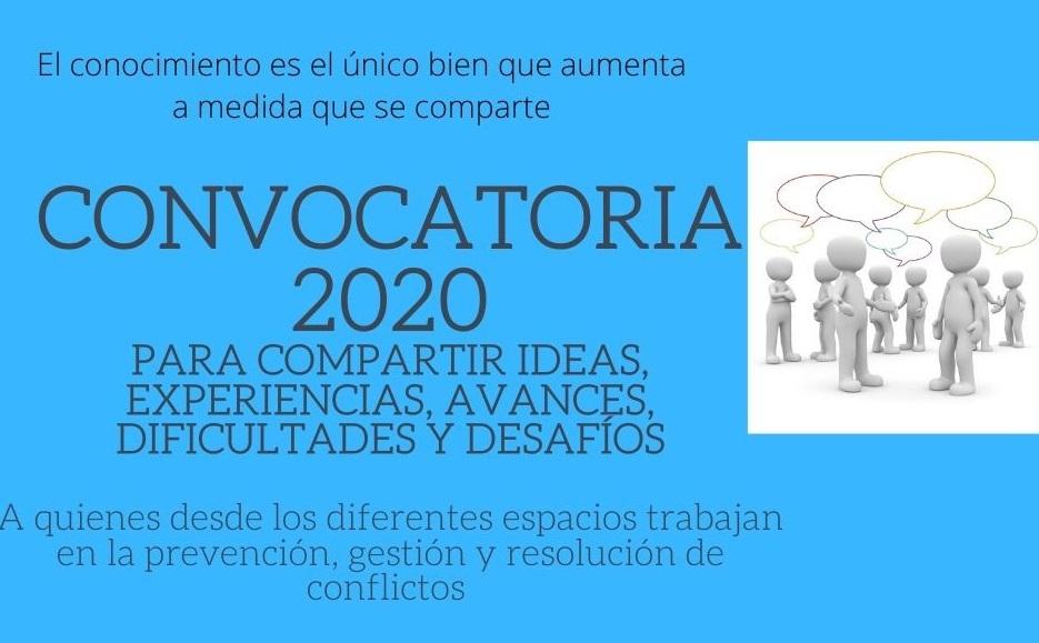 CONVOCATORIA PARA PUBLICAR 2020