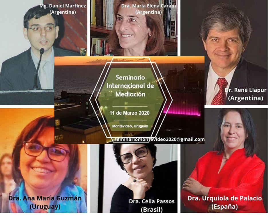 SEMINARIO INTERNACIONAL SOBRE MEDIACIÓN- MONTEVIDEO URUGUAY