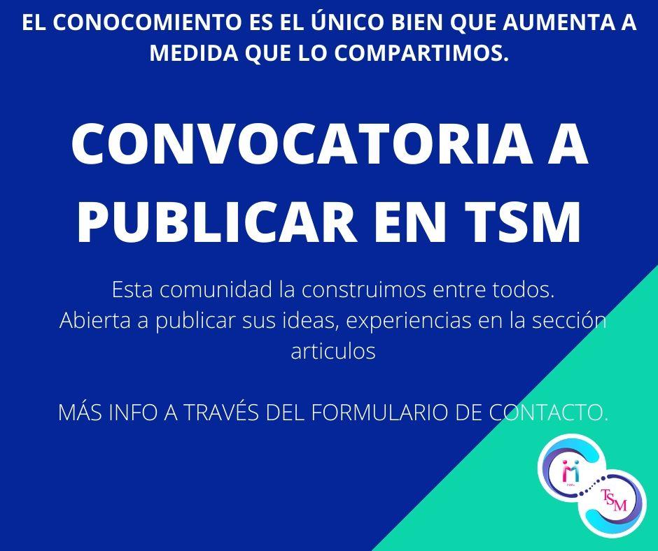 CONVOCATORIA A PUBLICAR