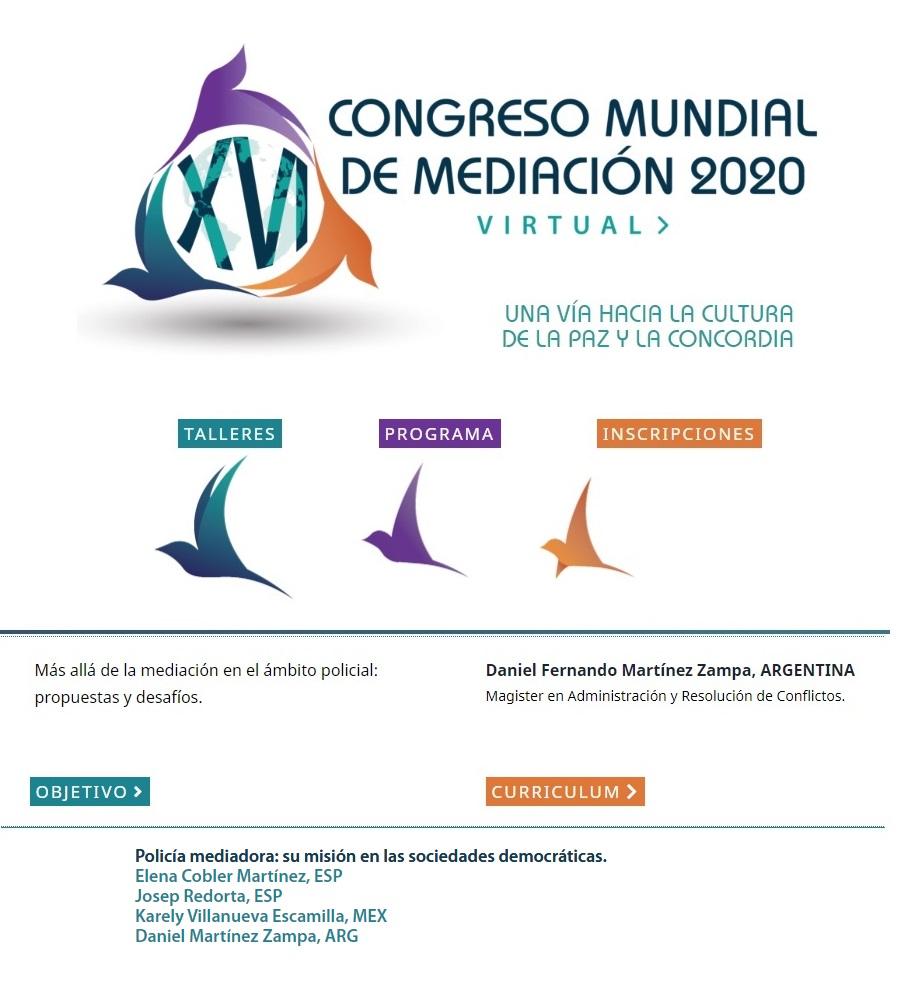 XVI CONGRESO MUNDIAL DE MEDIACIÓN.