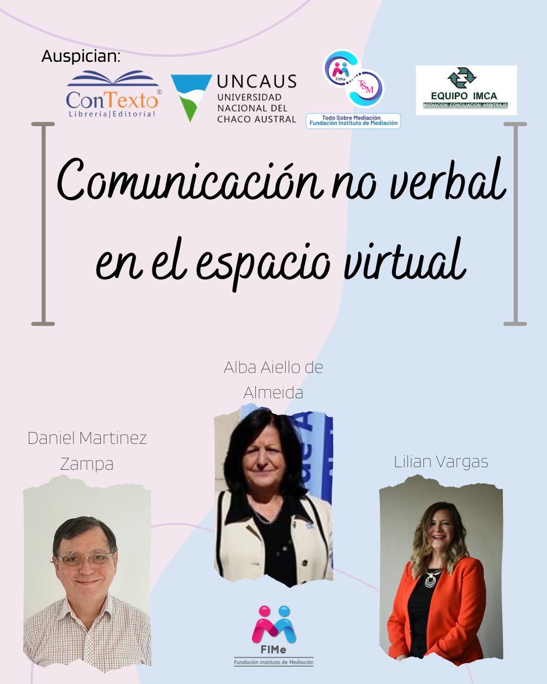 COMUNICACIÓN NO VERBAL EN EL ESPACIO VIRTUAL